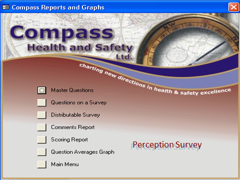 Request demo - Compass survey database.